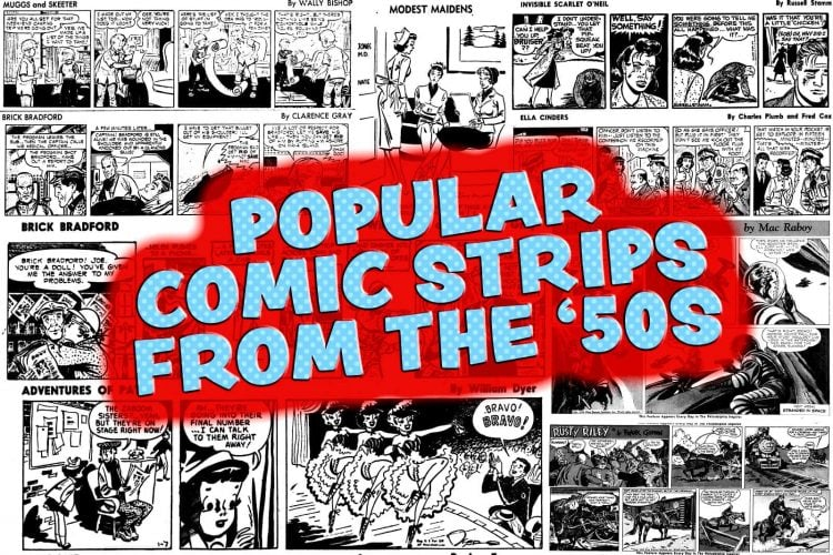 Favorite fifties funnies Popular comic strips from 1954