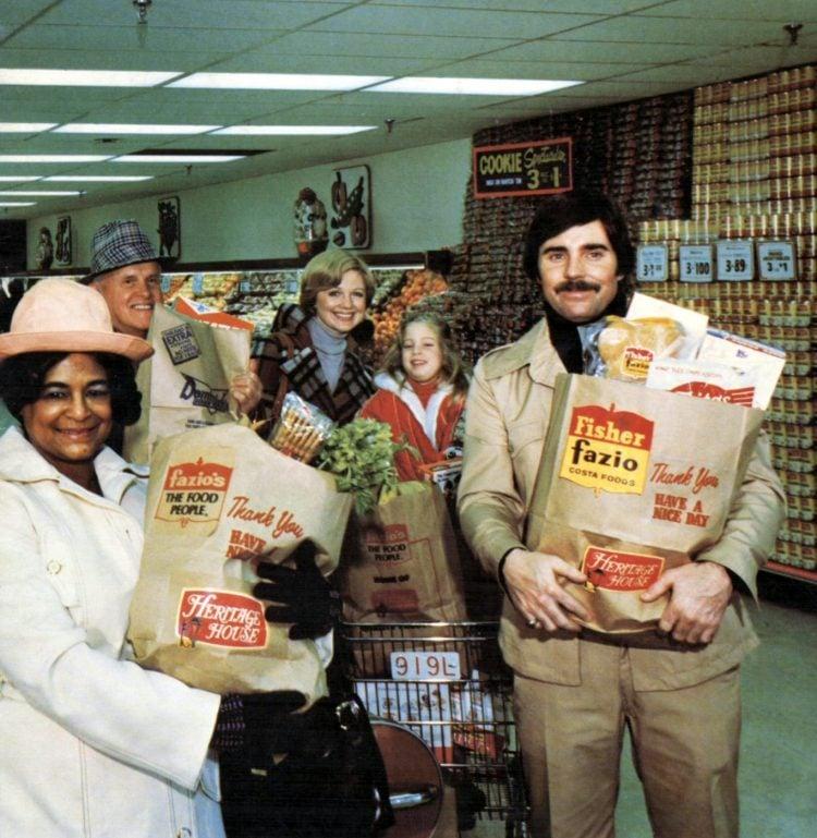 Fazio-Fisher-Dominicks 70s supermarket - 1975 - 0