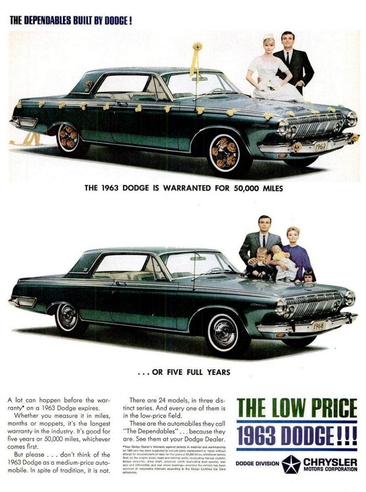 Feb 15, 1963 Dodge cars