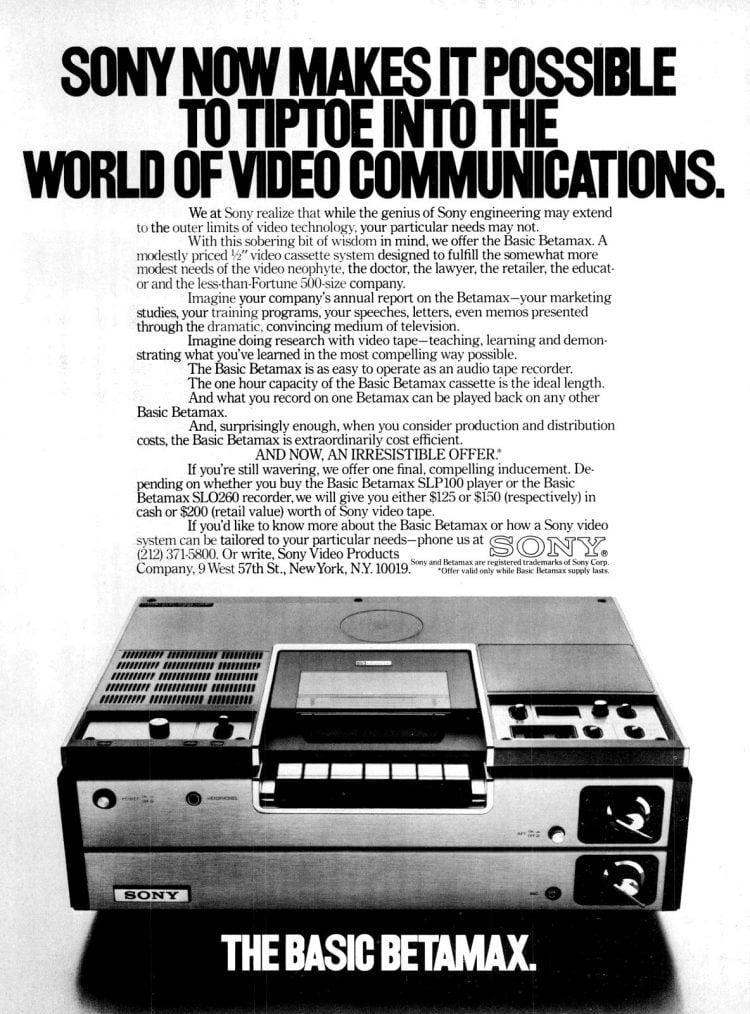 Feb 1979 Basic Betamax