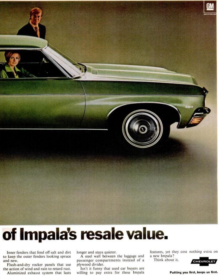 Feb 6, 1970 - Classic '70 Impala cars (1)