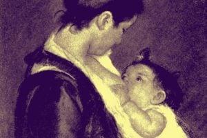 Feeding baby Mother's milk safest (1915)