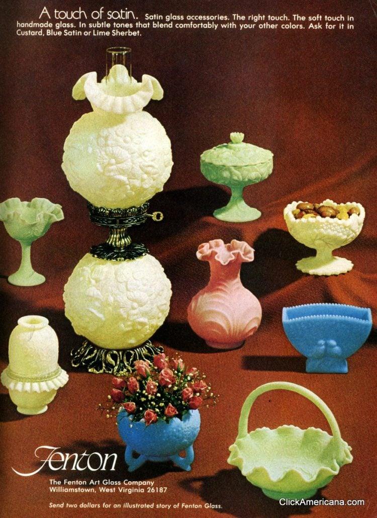 Fenton art glass (1975)
