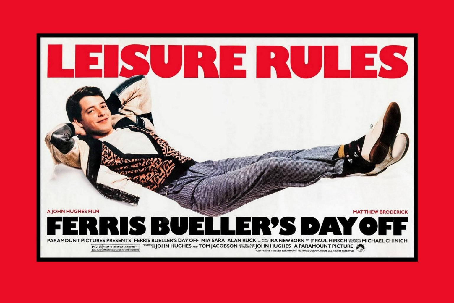 Ferris Bueller's Day Off movie (1986)