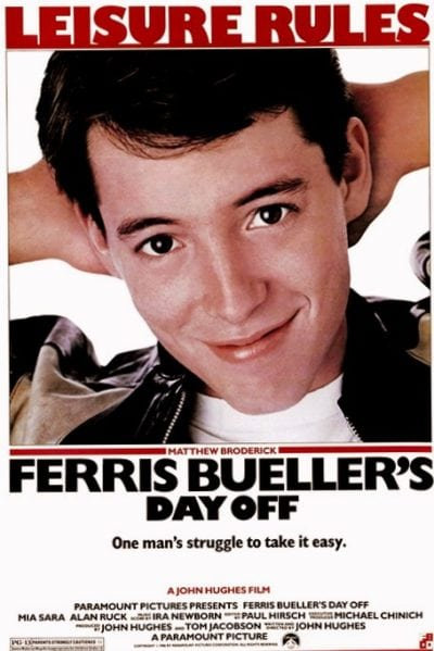 Ferris Bueller's Day Off at Amazon