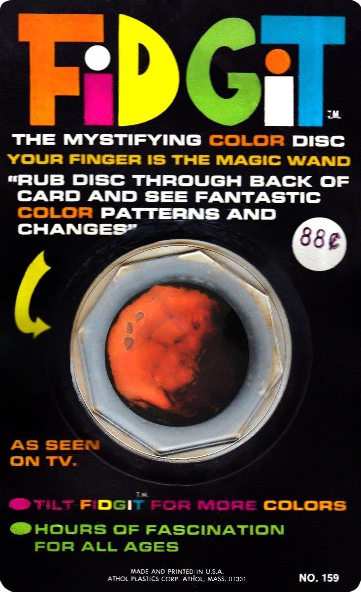 Fidgit The mystifying color disc