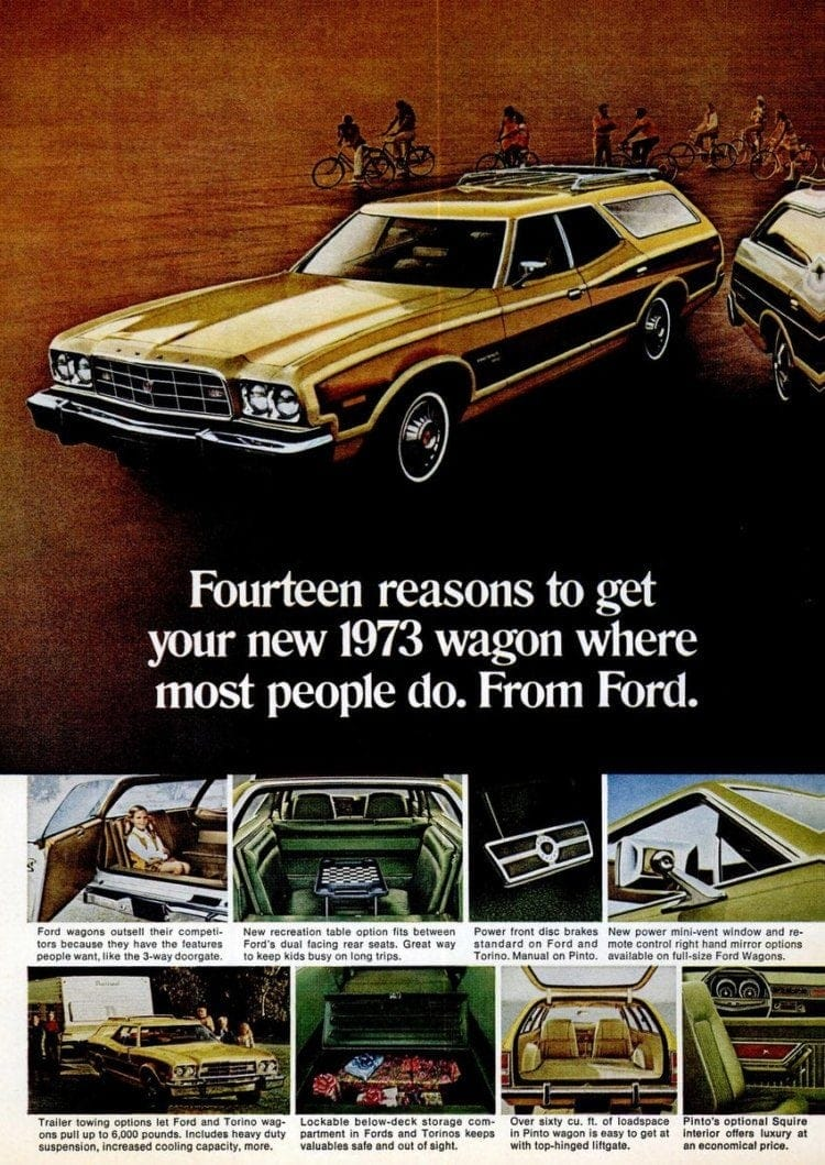 Ford Gran Torino station wagon