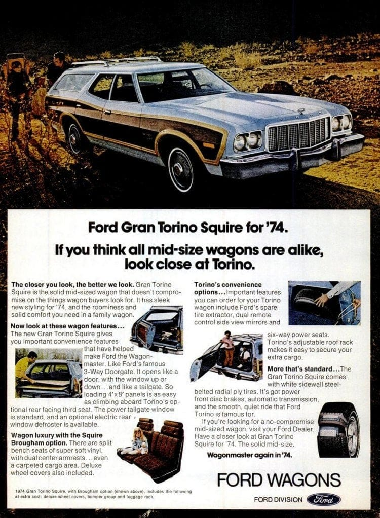 Ford Gran Torino station wagons