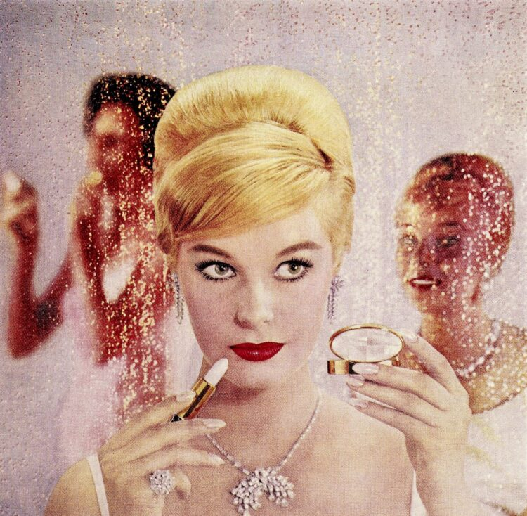 Fifties beauty and makeup tips and hairstyles