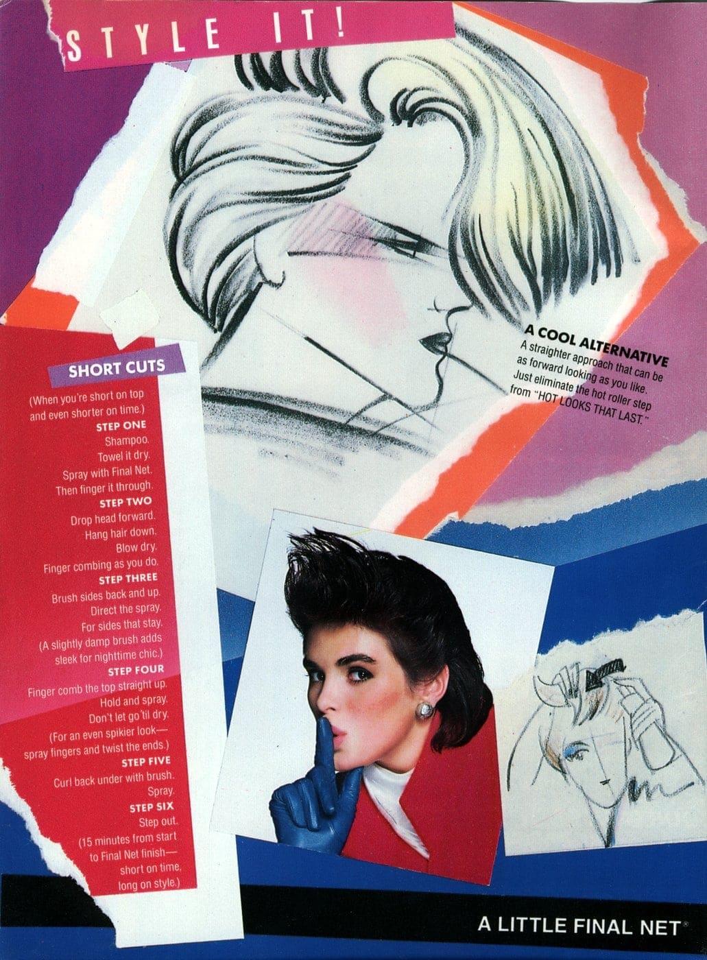 Final Nethairspray A cool alternative 1985 - Vintage