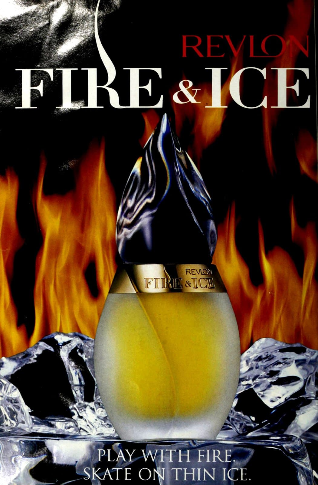 Fire and Ice fragrance from Revlon (1994) at ClickAmericana.com