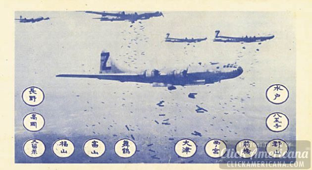 "Caption from CIA article: Front side of OWI notice #2106, dubbed the ""LeMay bombing leaflet,"" which was delivered to Hiroshima, Nagasaki, and 33 other Japanese cities on 1 August 1945. The Japanese text on the reverse side of the leaflet carried the following warning: ""Read this carefully as it may save your life or the life of a relative or friend. In the next few days, some or all of the cities named on the reverse side will be destroyed by American bombs. These cities contain military installations and workshops or factories which produce military goods. We are determined to destroy all of the tools of the military clique which they are using to prolong this useless war. But, unfortunately, bombs have no eyes. So, in accordance with America's humanitarian policies, the American Air Force, which does not wish to injure innocent people, now gives you warning to evacuate the cities named and save your lives. America is not fighting the Japanese people but is fighting the military clique which has enslaved the Japanese people. The peace which America will bring will free the people from the oppression of the military clique and mean the emergence of a new and better Japan. You can restore peace by demanding new and good leaders who will end the war. We cannot promise that only these cities will be among those attacked but some or all of them will be, so heed this warning and evacuate these cities immediately."""
