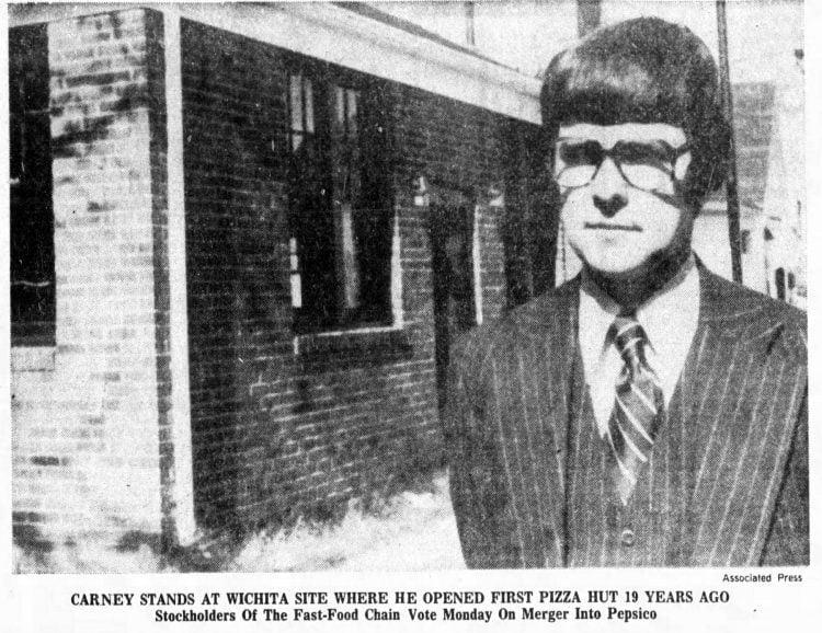 First Pizza Hut restaurant - 1977