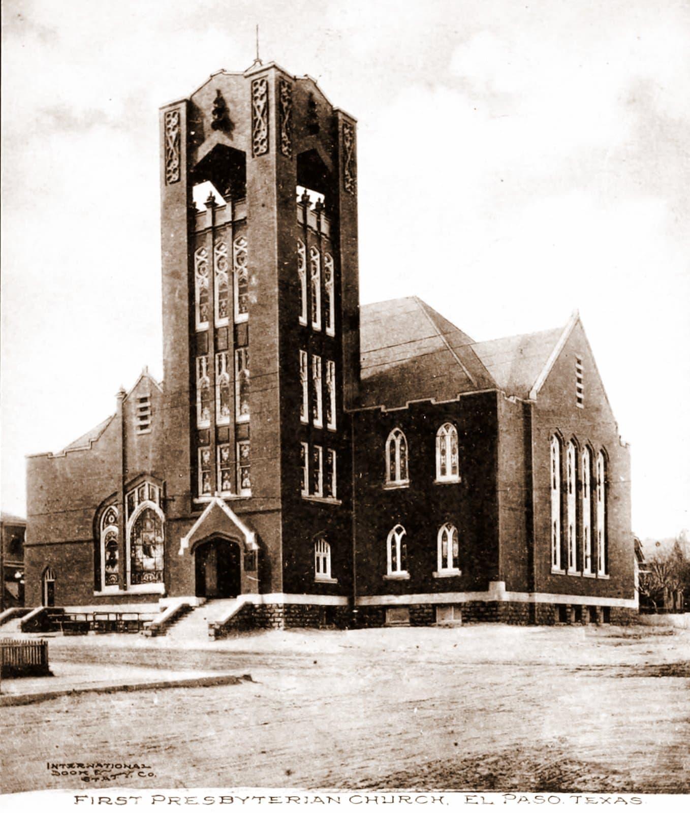 First Presbyterian Church in El Paso, Texas (1910)