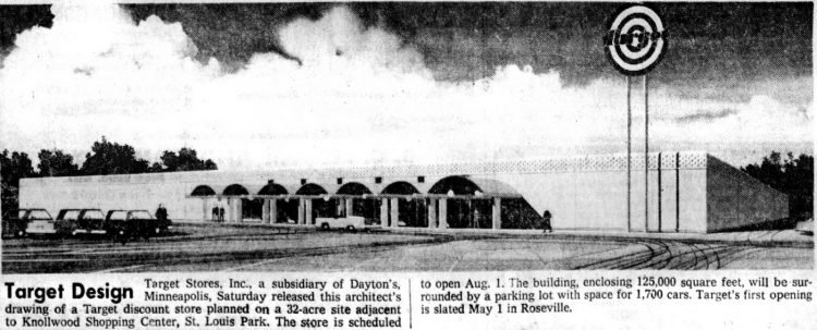 First Target store being built - Feb 18 1962