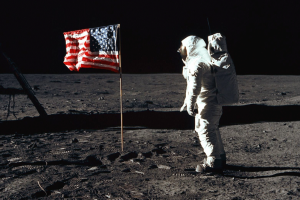 First steps on the moon - NASA 1969