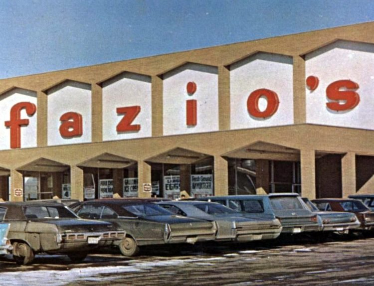 Fisher Foods old grocery store - 1969 6
