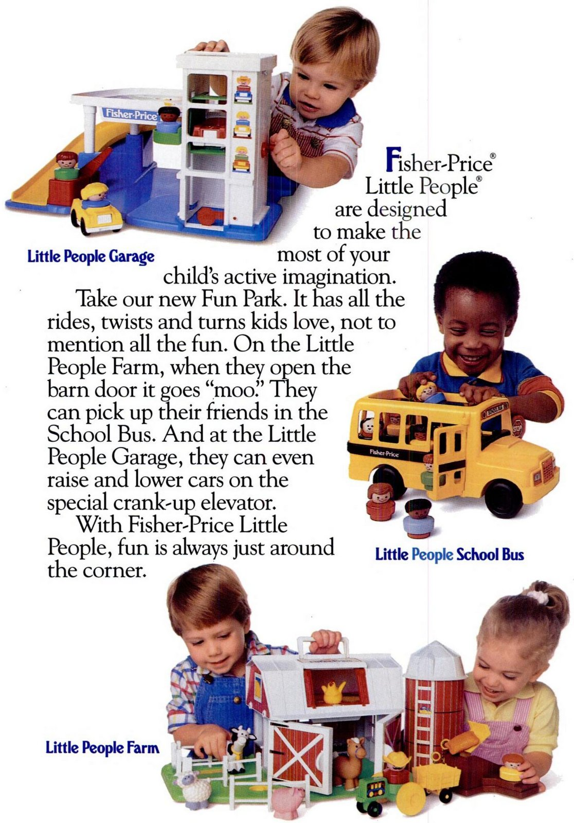 Fisher-Price Little People toys from 1993 (1)