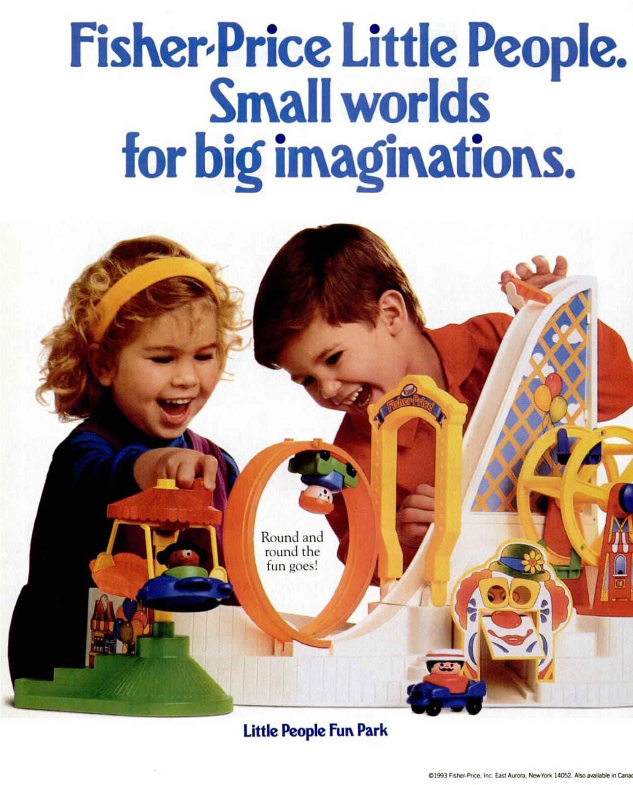 Fisher-Price Little People toys from 1993 (2)