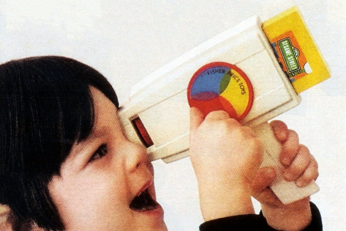 Fisher Price Movie Viewer toy