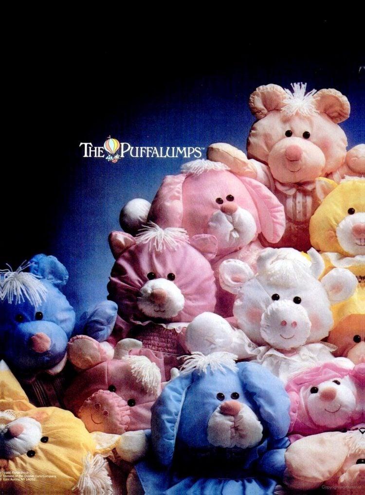 Fisher-Price Puffalump plush toys (1986)