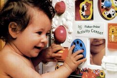 Fisher Price activity center toy -1987