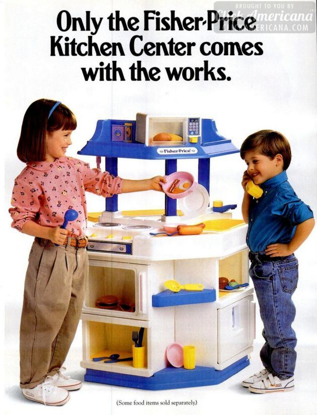 Let's play house! Fisher-Price Kitchen Center (1994)