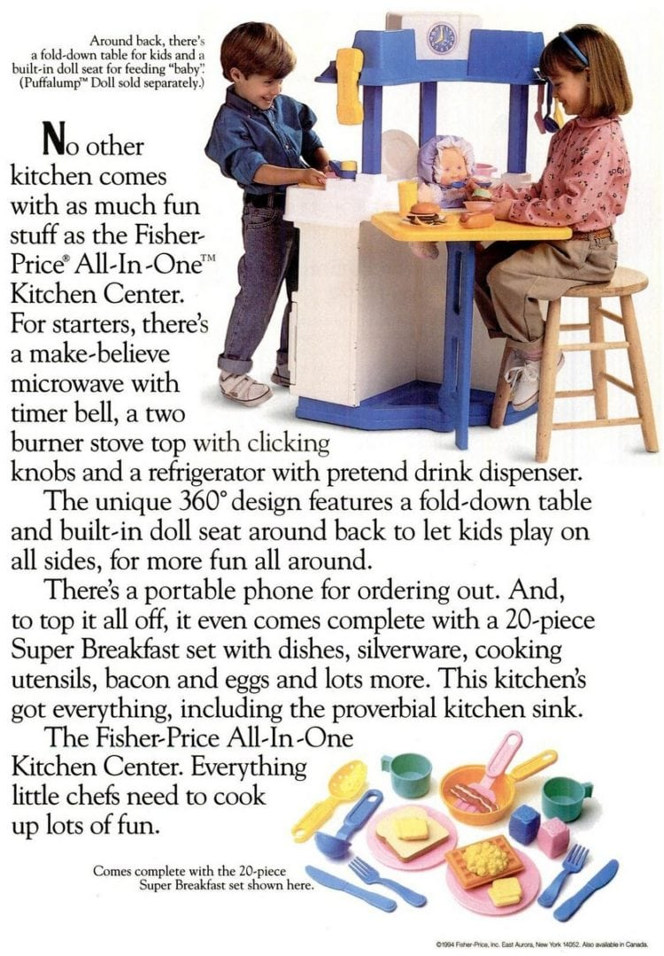 Fisher-Price Kitchen Center (1994)