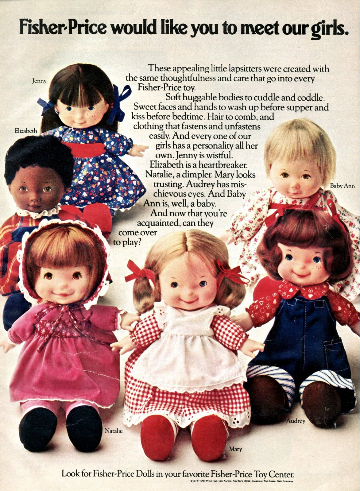 Fisher-Price would like you to meet our dolls (1974)