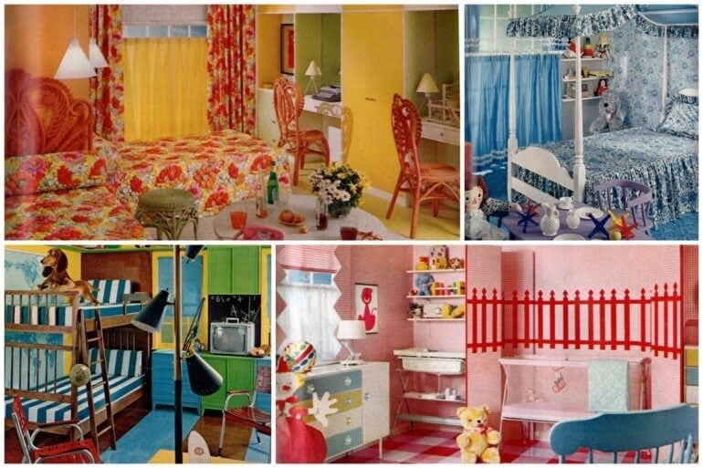 Five wonderful children's room decor ideas 1962