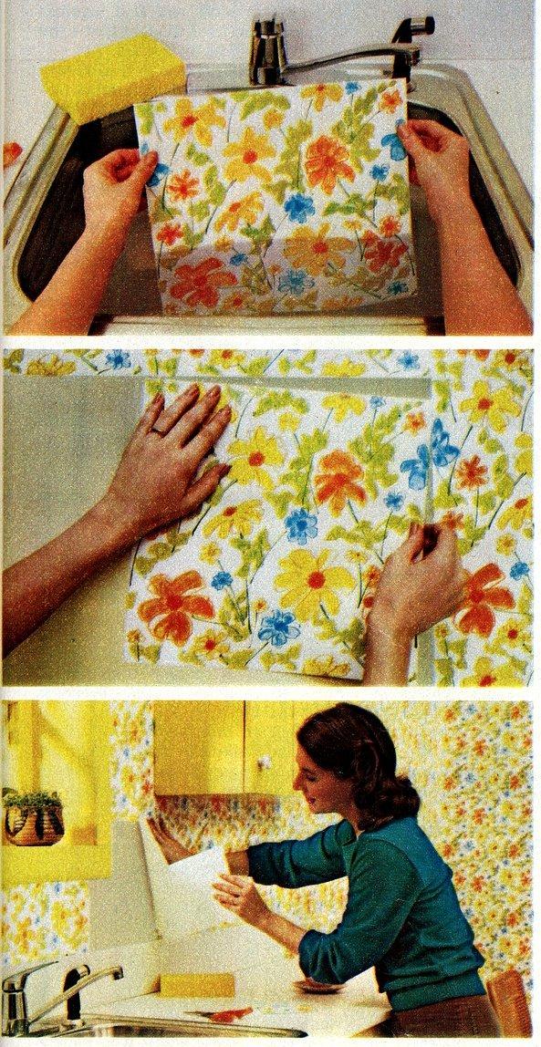 Flair Squares DIY wallpaper (1)