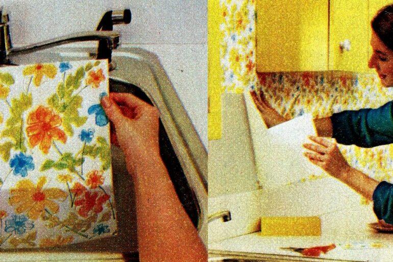 Flair Squares DIY wallpaper (2)