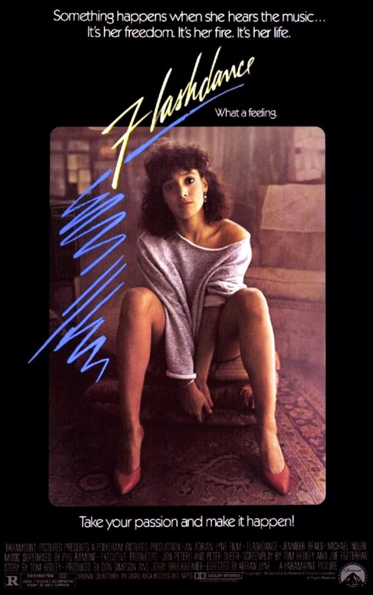 Flashdance movie poster