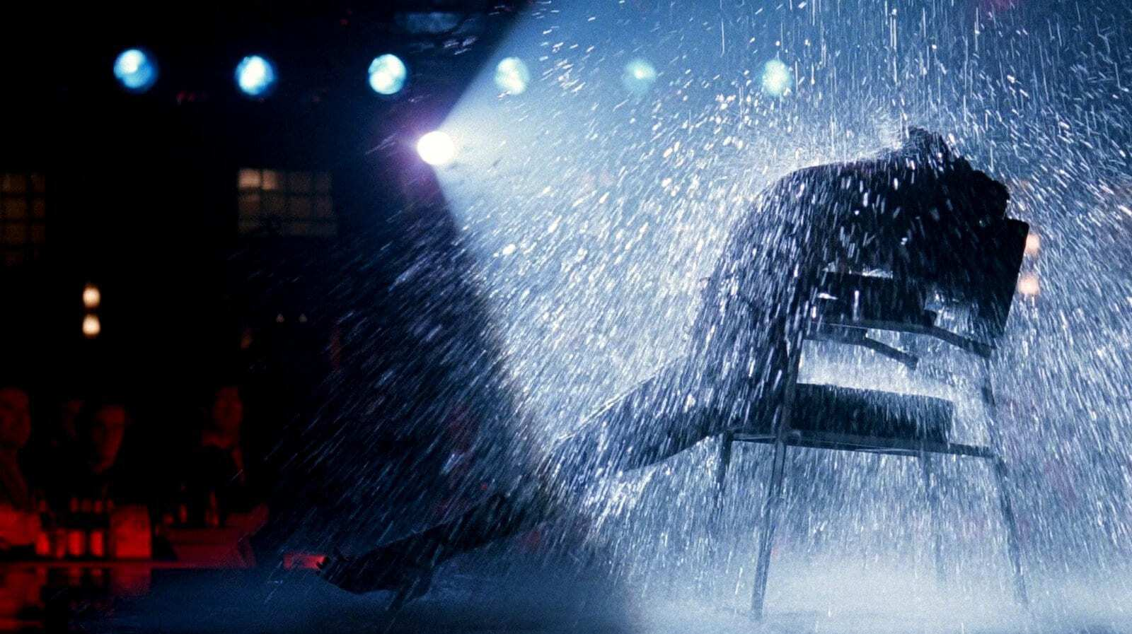 Flashdance stage with water