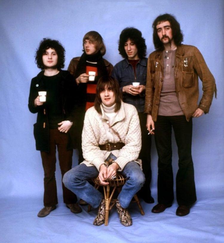 Fleetwood Mac 1969 - Mick Fleetwood John McVie Jeremy Spencer Danny Kirwan Peter Green