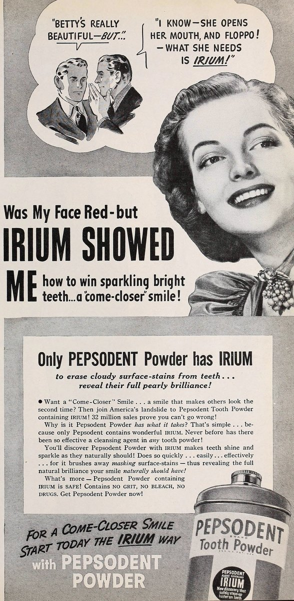 Floppo - Pepsodent - Mean vintage ads - Click Americana