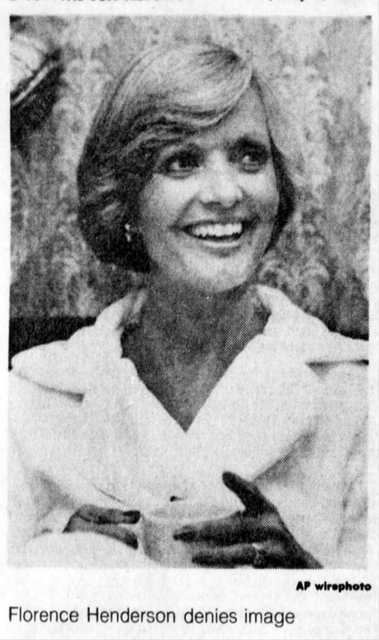 Florence Henderson in 1977