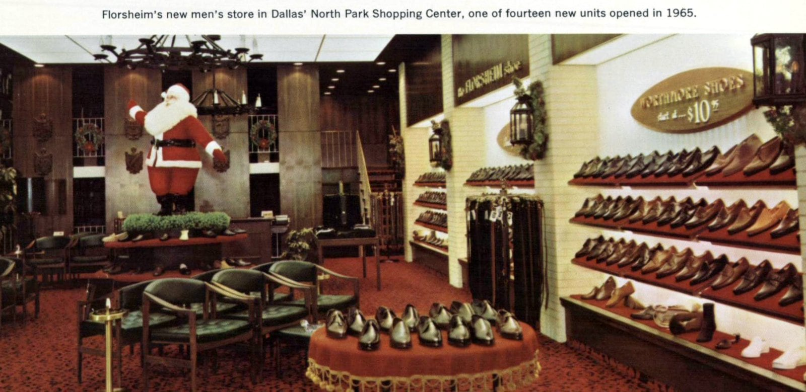 Florsheim Shoes - Dallas store (1965)