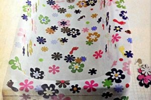 Flower stickers for the bathroom tub - Overload