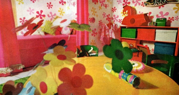 15 Fun Retro Ways To Decorate A Child S Bedroom With Real 60s Style Click Americana