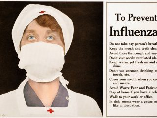 Flu tips from 1918 - To prevent influenza