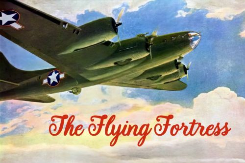 Flying Fortress WWII planes