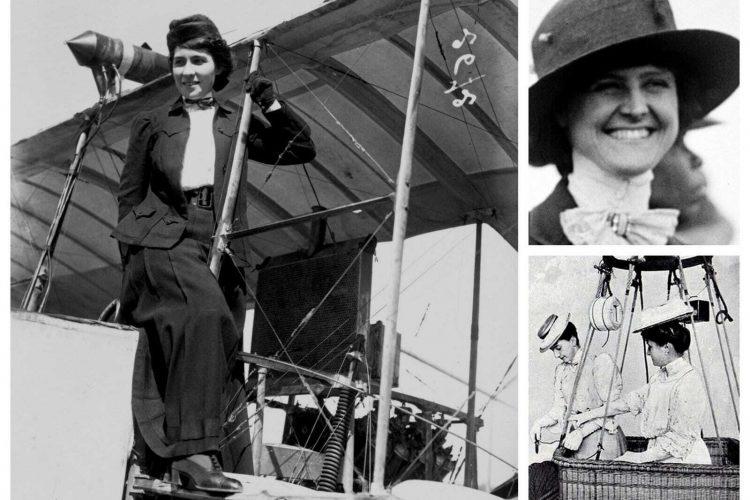 Flying the friendly skies Women pioneers of the air (1908)