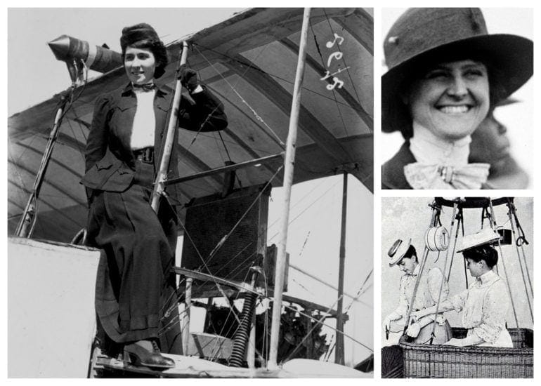 Flying the friendly skies Women pioneers of the air (1908)
