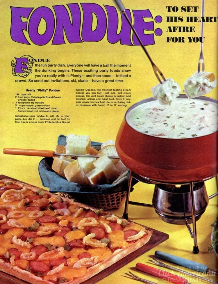 Fondue dinner recipes