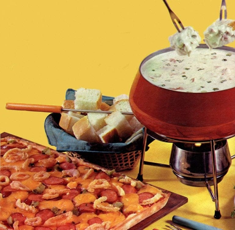 Fondue recipes from 1968