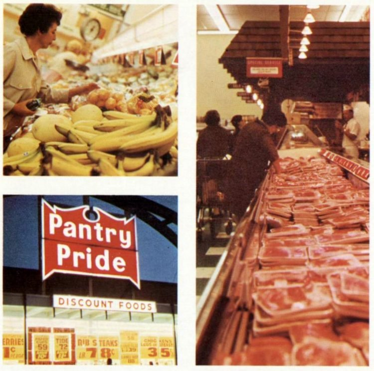 Food Fair retro grocery store - 1967