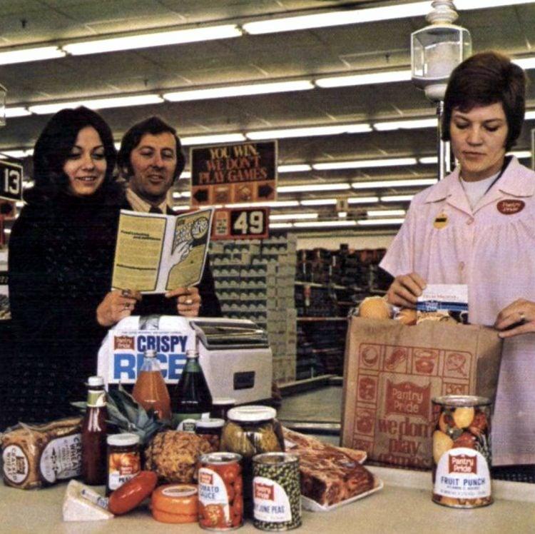 Food Fair retro grocery store - 1974 - 7-003