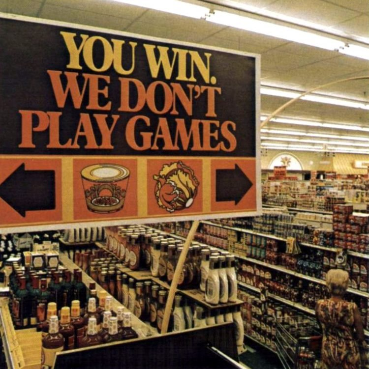 Food Fair retro grocery store - 1974 - 7