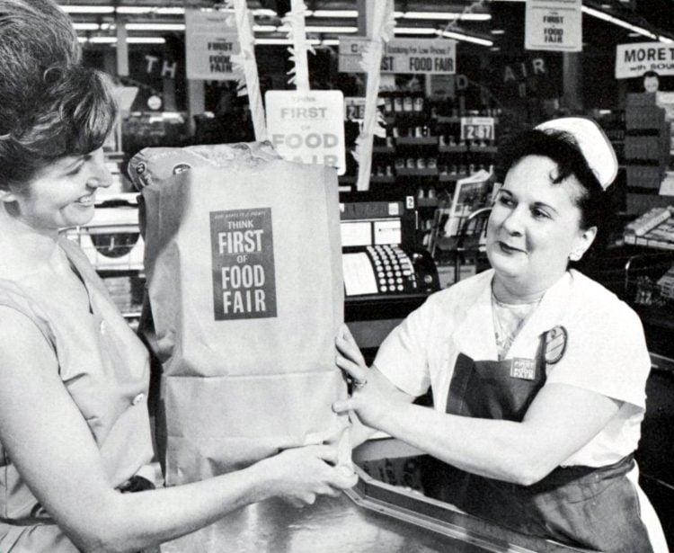 Food Fair vintage 1960s supermarkets - 1963 10